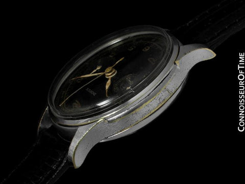 1940's Tudor (Rolex) Vintage Mens Art Deco Small Rose Dress Watch, Ref. 746 - Stainless Steel