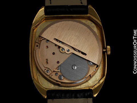 1974 Omega Constellation Chronometer Vintage Mens Watch - 18K Gold Plated and Stainless Steel