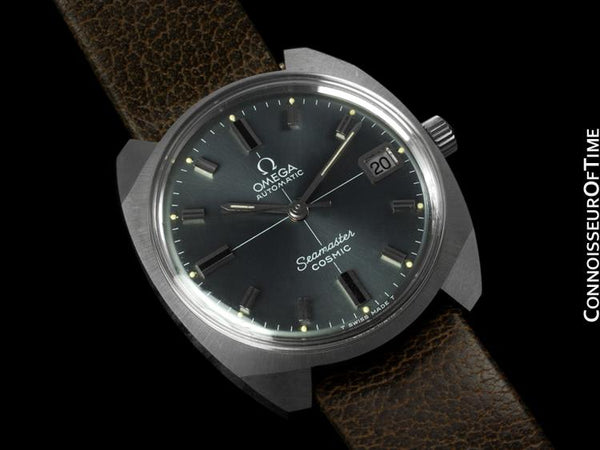 1970 Omega Vintage Mens Seamaster Cosmic, Date, Auto - Stainless Steel - NOS New-Old-Stock