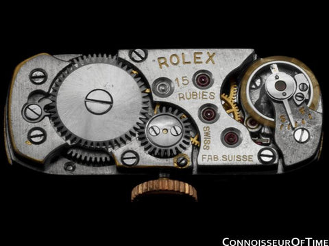 1937 Rolex Vintage Ladies Princess Style (Prince) Watch - 9K Rose Gold