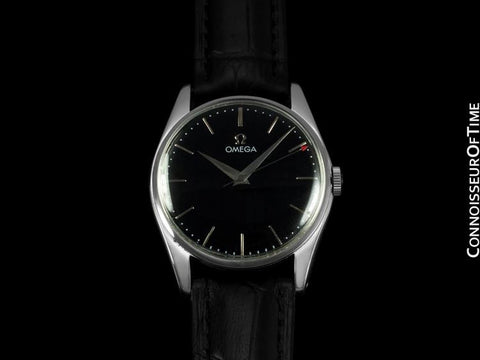 1958 Omega Classic Vintage Mens Dress Watch - Stainless Steel