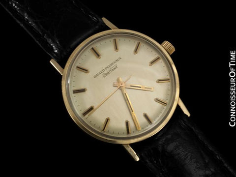 1960's Girard Perregaux Sea Hawk Vintage Mens Watch - 14K Gold Filled