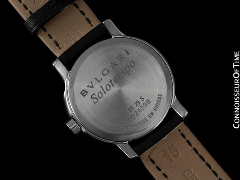 Bvlgari Solotempo Ladies Watch, Ref. ST 29 S - Stainless Steel