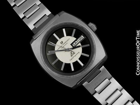 1971 Girard Perregaux Vintage HF High Frequency Chronometer, Day Date - Stainless Steel