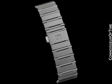 Omega Constellation Mens 35mm Watch, Quartz, Date - Brushed Stainless Steel