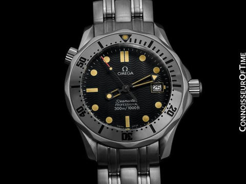 Omega James Bond Seamaster Midsize 300M Professional Diver, Stainless Steel - 2562.80.00