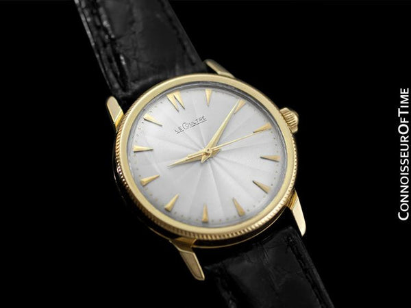 1949 Jaeger-LeCoultre Vintage Men's Watch, Automatic, Waterproof - 18K Gold