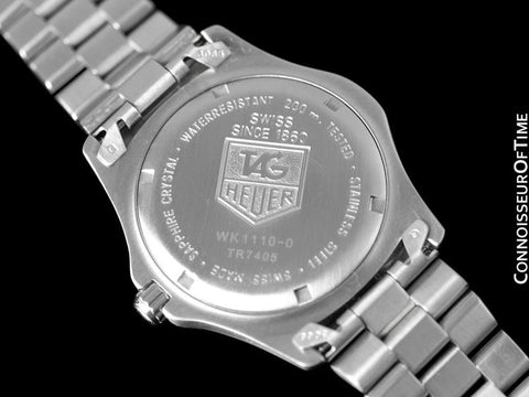Tag Heuer Professional 2000 Classic Mens Watch - Stainless Steel - WK1110