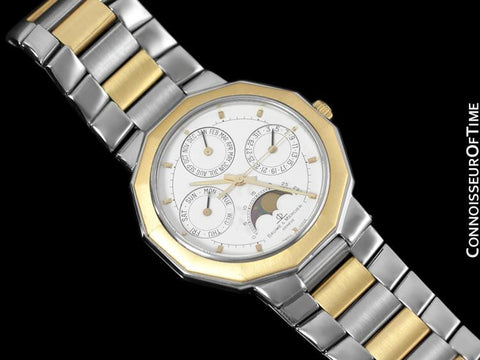 Baume & Mercier Riviera Calendar with Moonphase - Stainless Steel & Solid 18K Gold