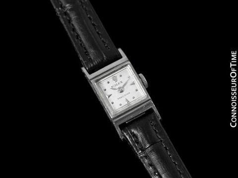 1952 Rolex Precision Ladies Dress Watch - 18K White Gold