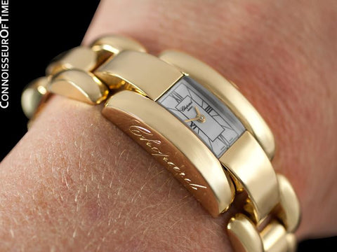 Chopard La Strada Ladies Bracelet Watch - 18K Gold