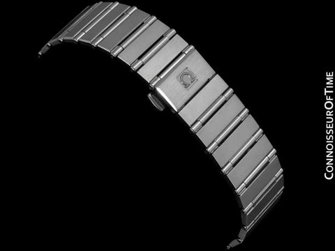 Omega Constellation Mens Bracelet Watch, Quartz, Date, 35mm - Brushed Stainless Steel