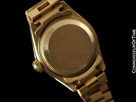 Rolex Ladies President Date Just Ref. 69178, Rolex Factory Diamonds - 18K Gold