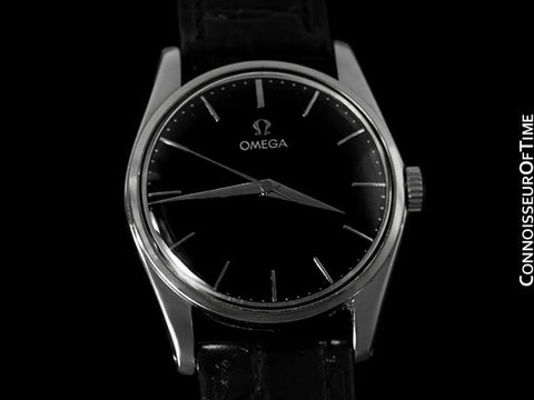 1958 Omega Vintage Mens Dress Watch - Stainless Steel - Classic Style