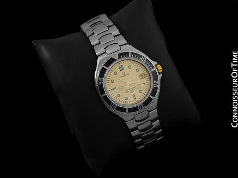 Omega Seamaster 200M Pre-Bond Dive Watch, Date - Stainless Steel & Gold