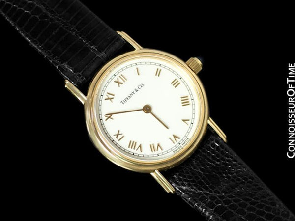 Tiffany & Co. Ladies Portfolio Watch - 18K Gold