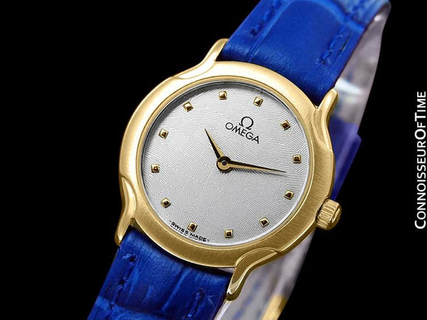 Omega De Ville Ladies Waterproof Dress Watch - 18K Gold