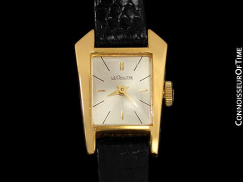 1957 Jaeger-LeCoultre Vintage Ladies Asymmetrical Watch Ref. 2416 - Gold Plated