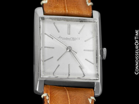 1962 IWC Vintage Mens Dress Watch, Caliber 401 - Platinum
