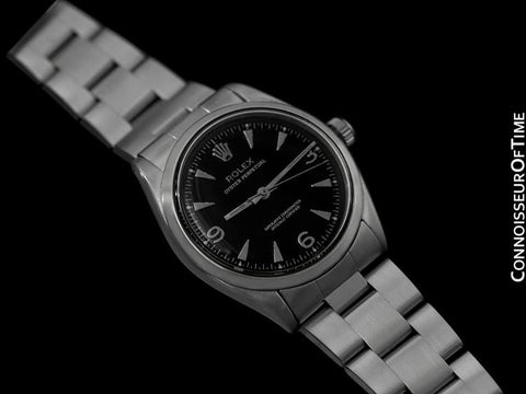 1957 Rolex Oyster Perpetual Vintage Mens Watch - Stainless Steel