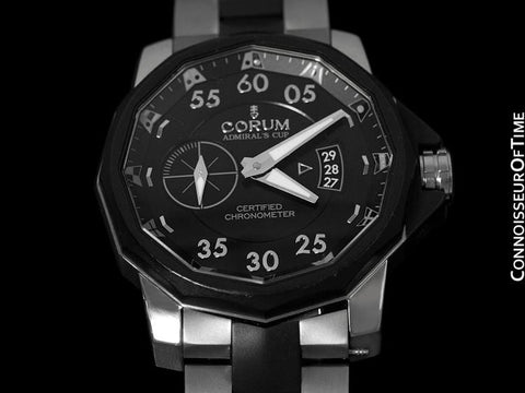Corum Admiral's Cup Challenger Chronometer 48mm - Titanium & PVD 947.951.95/V791 AN14