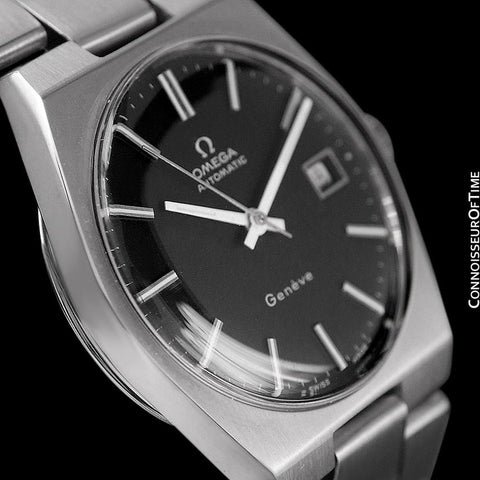 1972 Omega Geneve Vintage Mens Automatic Watch - Stainless Steel