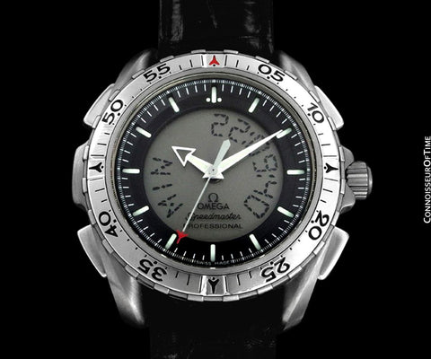 Omega Speedmaster X-33 Digital NASA Pilot's Chronograph Watch, 3290.50.00 - Titanium