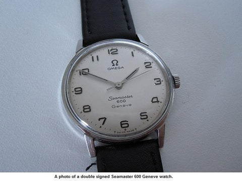1967 Omega Geneve (Seamaster 600) Vintage Mens Handwound Watch - Stainless Steel