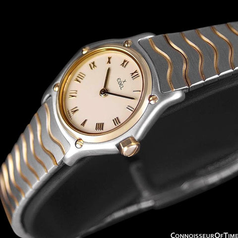 Ebel Wave Ladies Watch - Stainless Steel & 18K Gold