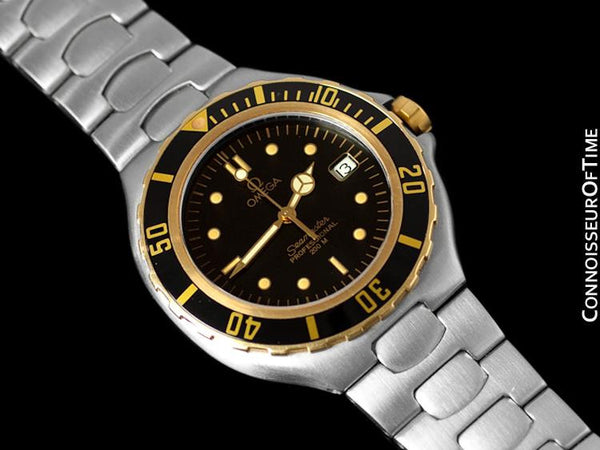 Omega Seamaster 200M Pre-Bond Dive Watch, Date - Stainless Steel & 18K Gold