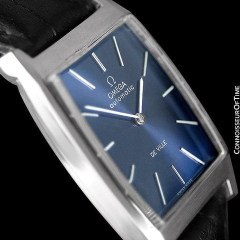 1969 Omega De Ville Mens Automatic Dress Watch - Stainless Steel