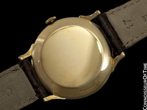 1955 Omega Classic Vintage Mens Automatic Watch - 14K Gold Filled
