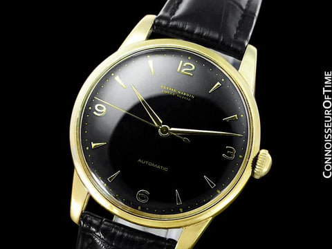 1960's Ulysse Nardin Vintage Mens Full Size 35mm Automatic Watch - Gold Plated & Stainless Steel