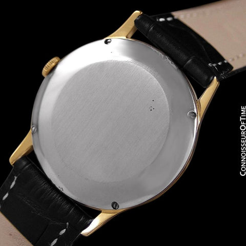 1979 IWC Vintage Mens Ultra Thin Automatic Watch - 18K Gold Plated and Stainless - Very Rare JLC Cal. 3252