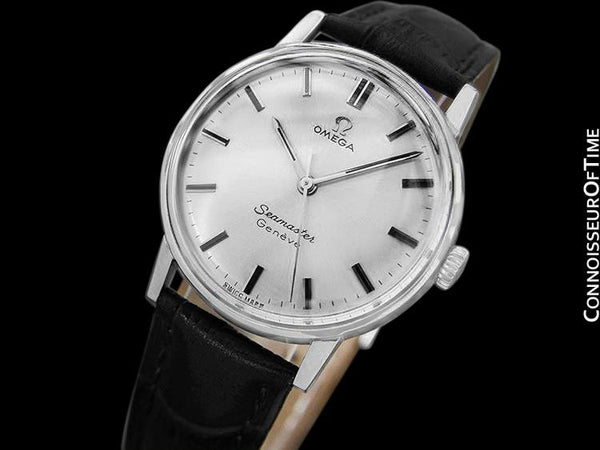 1968 Omega Seamaster (600) Geneve Vintage Mens Handwound Watch - Stainless Steel