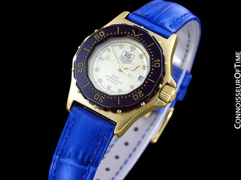 Tag Heuer 3000 Ladies Quartz Divers Watch - 18K Gold Plated & Stainless Steel