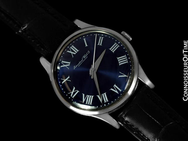 1957 IWC Vintage Mens Watch, Caliber 89 - Stainless Steel