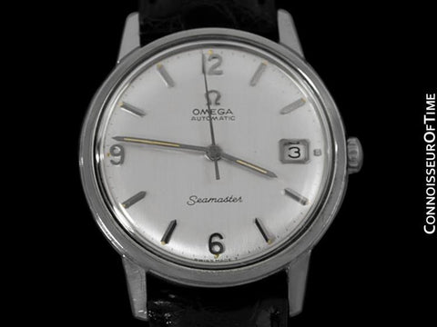 1967 Omega Seamaster Vintage Mens Caliber 563 Watch, Automatic - Stainless Steel