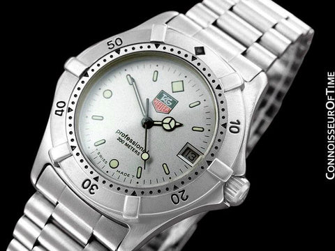 Tag Heuer Professional 2000 Mens Diver Watch, WE1211R - Stainless Steel