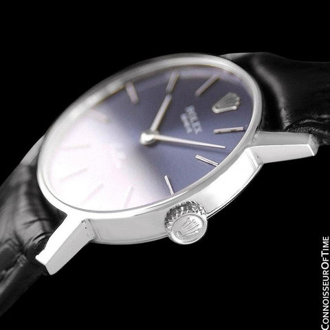Rolex Cellini Ladies Watch, Ref. 3810 - 18K White Gold