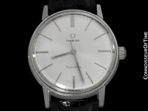 1968 Omega Geneve (Seamaster 600) Vintage Mens Handwound Watch - Stainless Steel