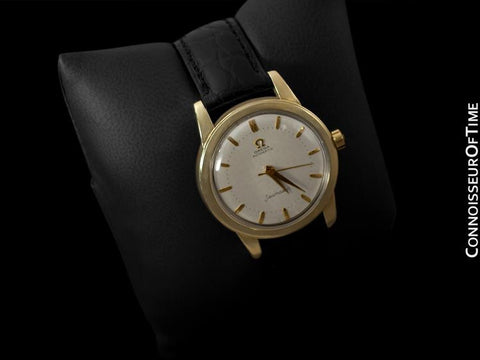 1956 Omega Seamaster Vintage Mens Automatic Watch - 14K Gold Filled