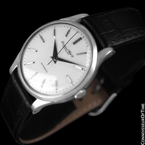 1963 IWC Vintage Mens Watch, Cal. 853 Automatic - Stainless Steel