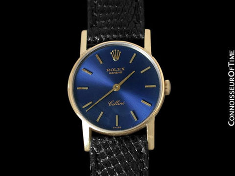 Rolex Cellini Ladies Watch, Ref. 3810 - 18K Gold