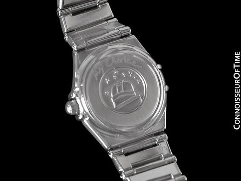 Omega Ladies Constellation 95 My Choice Mini Watch - Stainless Steel & Omega Factory Diamonds