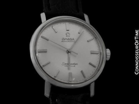 1968 Omega Seamaster De Ville Vintage Mens Cal. 550 Watch, Automatic - Stainless Steel
