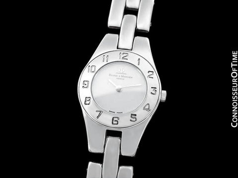 Baume & Mercier Ladies Linea Watch - Stainless Steel