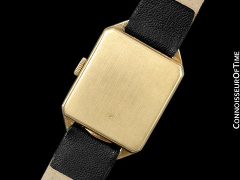 1930's Vacheron & Constantin Vintage Mens Midsize Art Deco Watch - 18K Gold