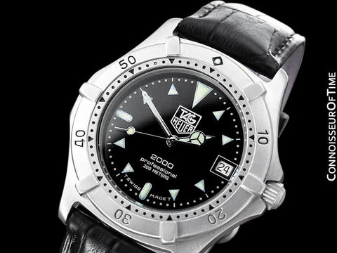 TAG Heuer Professional 2000 Mens Diver Watch, 964.006 - Stainless Steel