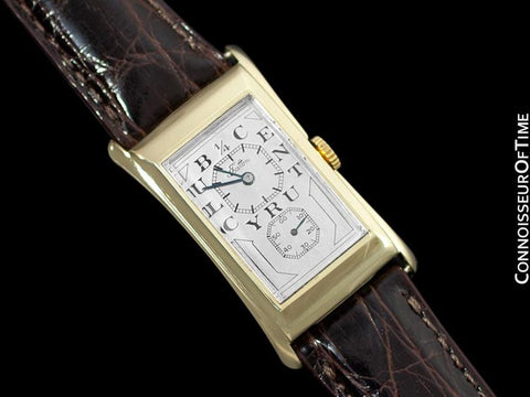 1944 Rolex Prince Brancard Eaton 1/4 Century Doctor's Watch - 14K Gold